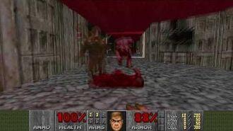 Doom (1993) - E2M2 Containment Area 4K 60FPS
