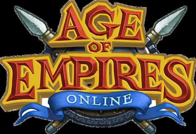 File:AoE Online Logo.png