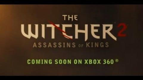 The Witcher 2 Xbox 360 Trailer