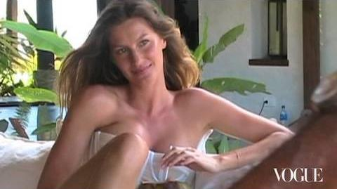 Gisele Bündchen Vogue Cover Shoot Behind-the-Scenes April 2010