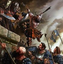 Middenlanderses por undermound Bárbaros del Caos Tropas Estatales Imperio