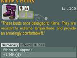 Klime's Boots (Quest)