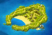 Tienti Beach Map
