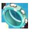 Blue Riktus Ring