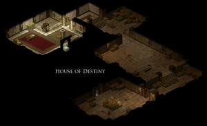 House of Destiny Map
