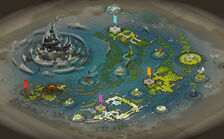 Wakfu new world map