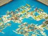 Cap'n Dark Hurl's Map