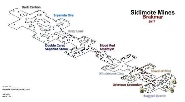 Sidimote mines map wakfu by MattR