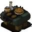 Dark Baker Table