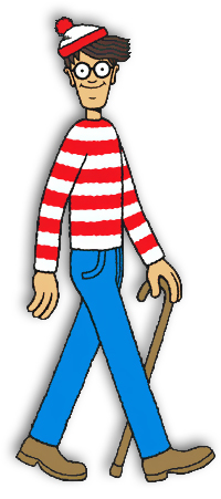 Waldo from 'Where's Waldo?'