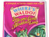 The Meanie Genie of Aladdin's Lamp