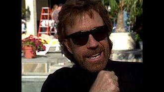 Walker, Texas Ranger Chuck Norris Exclusive TV Interview