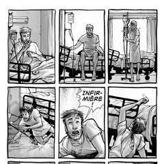 Rick tente d'appeler une infirmière, mais personne ne lui répond. (<a href=