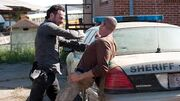 Rick and shane fight