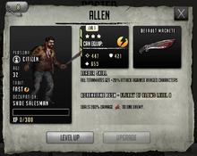 Allen - Stage 3, Level 1
