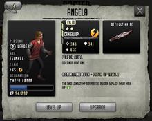 Angela - Tier 2, Level 18