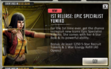 1st Release Epic Specialist Yumiko