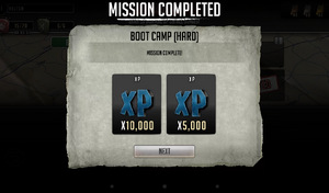 Daily Mission Boot Camp Completed