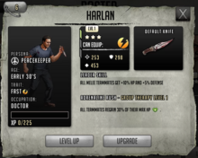 Harlan - Tier 1, Level 1