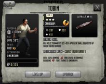Tobin - Level 1