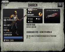 Darren - Max Stats