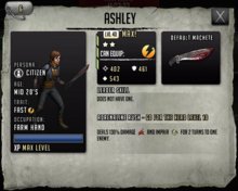 Ashley - Max Stats