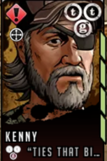 Red Kenny Portrait (Small)