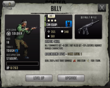 Billy - Tier 2, Level 1