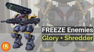 The Best War Robots Freeze Weapons (Glory Shredder)