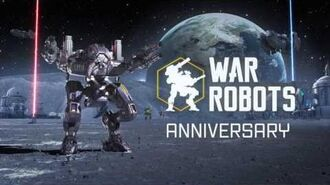 War Robots anniversary 2017 - three years birthday!!