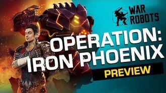 IRON PHOENIX 🐦War Robots Operation 5 Trailer-0
