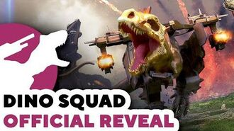 DINO SQUAD Official Reveal! (New Game by Pixonic)