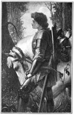 Sir Galahad by Watts, engraved by Peckwell