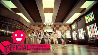 MV 달샤벳(Dalshabet) Mr. Bang Bang