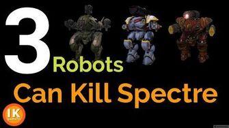 3 Robots Can Kill Spectre ( 3 Set up Weapons Can Kill Spectre) ฆ่าหุ่น 4 แขนด้วย 3 เทพบอท