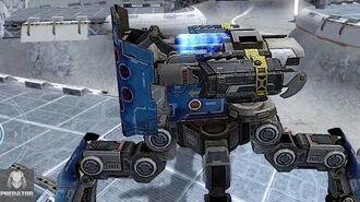 NEW Exodus Raijin Obliteration Gameplay Heavy Artillery Rockets War Robots-0