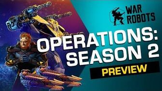 RAGING TYPHOON War Robots Operation 2 Trailer