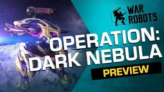 DARK NEBULA 🚀 War Robots Operation 4 Trailer