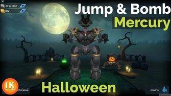 War Robots Mercury Bomb Jumping Halloween Theme( หุ่น Mercury)-0