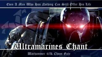 Chaos Gate OST -005 - Ultramarines Chant - Warhammer 40K Soundtrack Music
