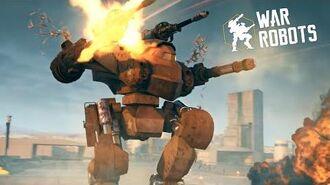 WAR ROBOTS official Trailer