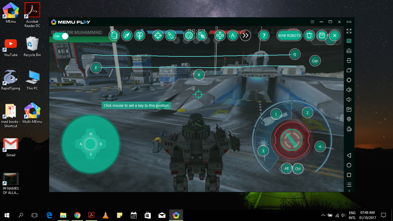 How to play on pc war robots wiki fandom powered by wikia so movements which require skill in android are mere pushes of buttons in emulator provided your placement is correct altavistaventures Image collections