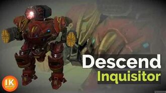 Inquisitor Warrobots WWR War Robot Inquisitor Guide (War Robot Descend Ability)