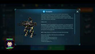 Nuevo Robot Scorpion - War Robots Test Server Version 6.0.1 (739) - RocksGaming