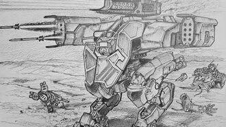 How to Draw a Lancelot From War Robots