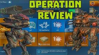 """WR Update 5.3 - New Feature Operation """"Gathering Storm"""" Review War Robots"""