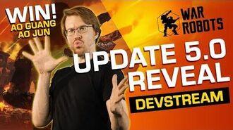 War Robots Devstream Update 5.0 REVEAL (5-Year Anniversary Update)
