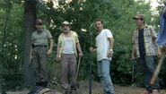 Shane Dale Rick Glenn after killing walker