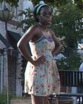 Season three black woodbury girl