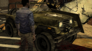 LRA Military Jeep
